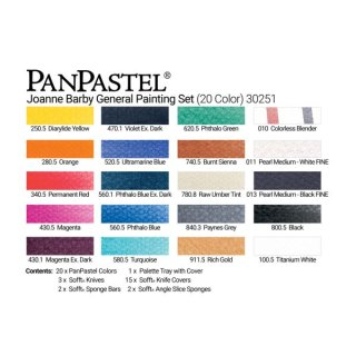 PanPastel 20er Set - General Painting