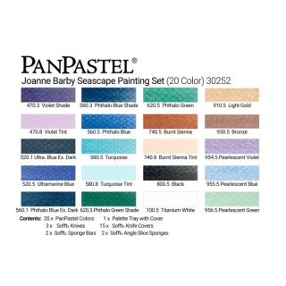PanPastel 20er Set - Seascape Painting