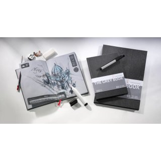 Hahnemühle Skizzenbuch The Grey Book A4 120g/m²