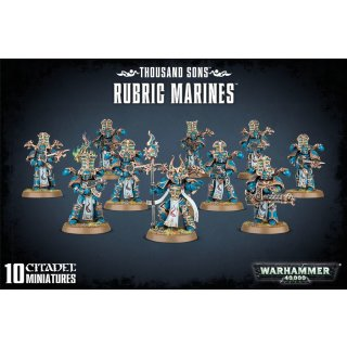Warhammer 40,000: Thousand Sons Rubric Marines