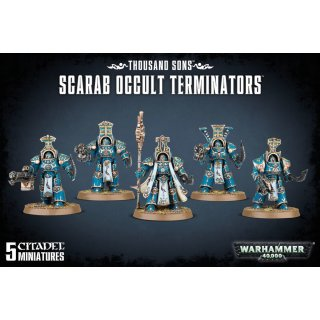 Warhammer 40,000: Thousand Sons Scarab Occult Terminators