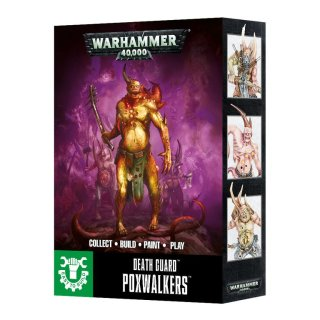 Warhammer 40,000: Death Guard Poxwalkers