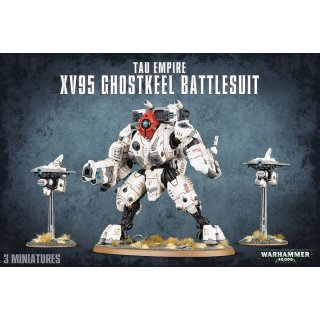 Warhammer 40,000: Tau Empire XV95 Ghostkeel Battlesuit
