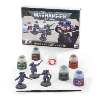 Warhammer 40,000: Intercessors + Paint Set