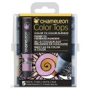 Chameleon Color Tops 5er Set - Pastelltöne