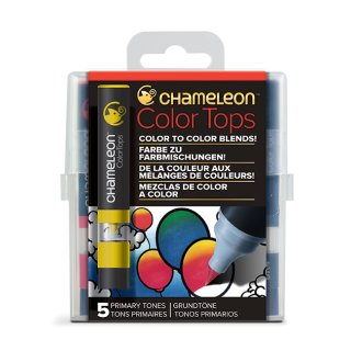 Chameleon Color Tops 5er Set - Primärfarbtöne